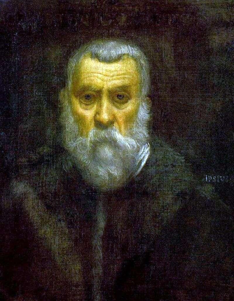 Autoportret   Jacopo Tintoretto