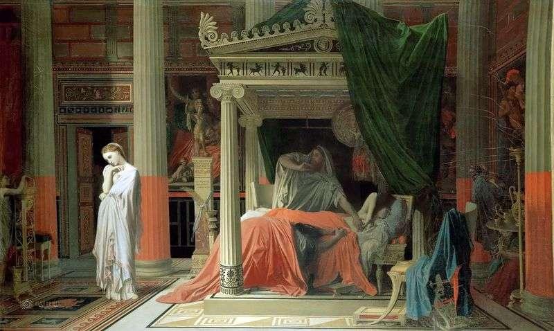 Antiochus i Stratonica   Jean Auguste Dominique Ingres