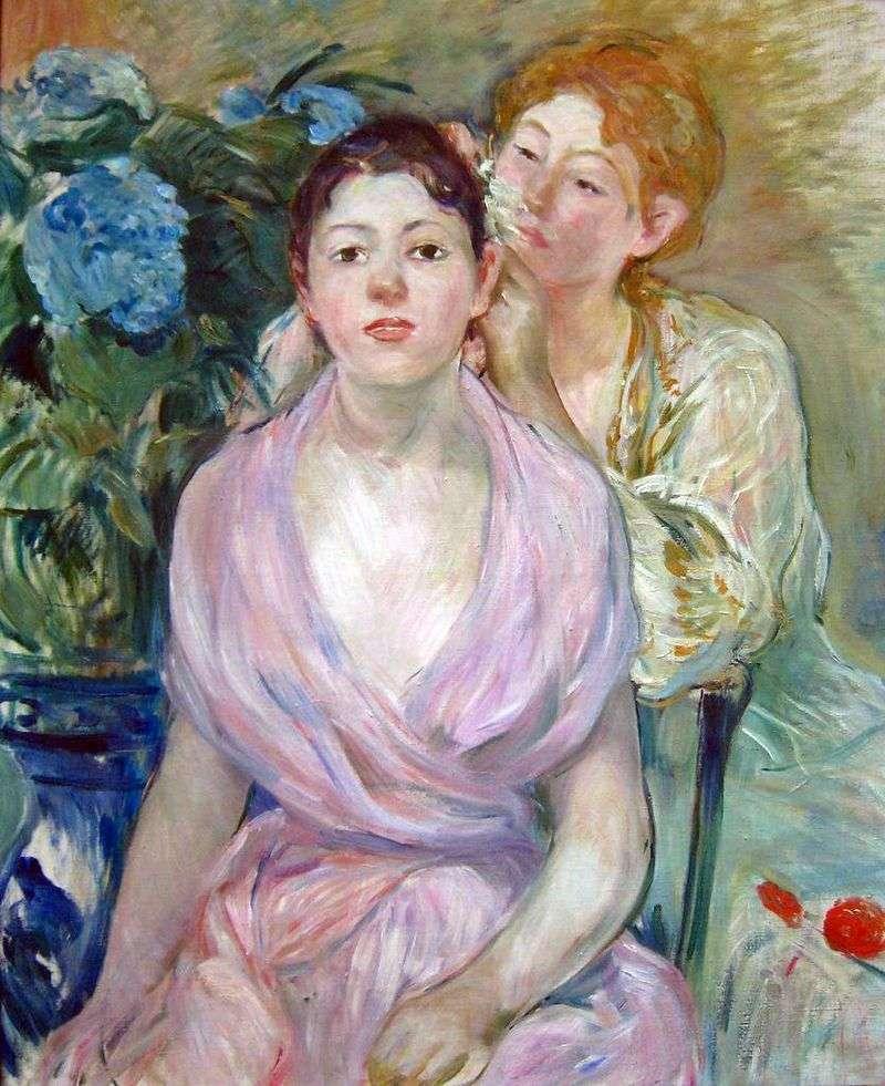 Hortensia (Dwie siostry)   Bertha Morisot
