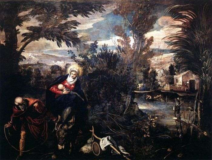 Lot do Egiptu   Jacopo Tintoretto