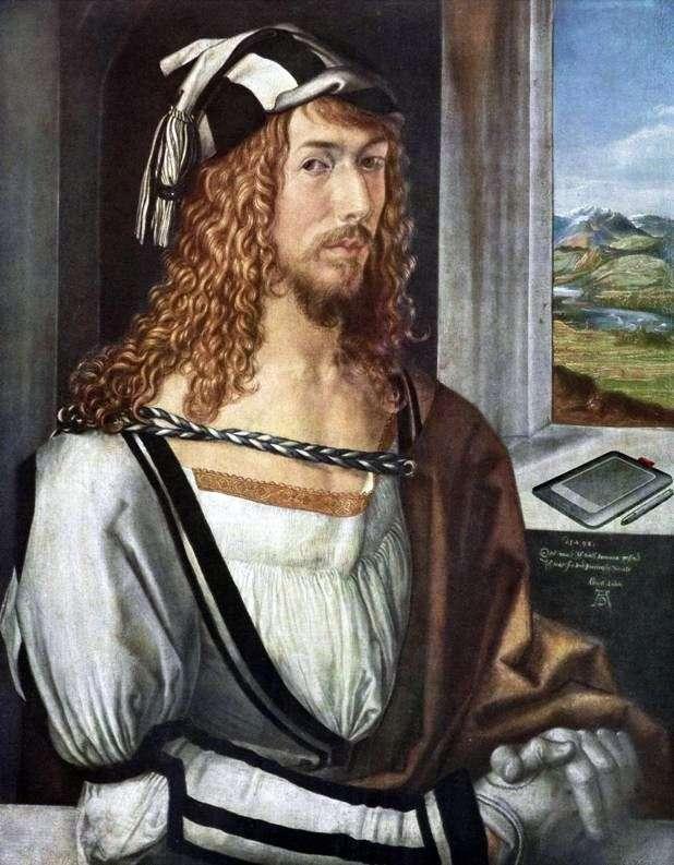 Autoportret w wieku 26 lat   Albrecht Durer