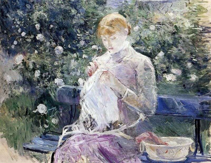 Szycie   Berthe Morisot