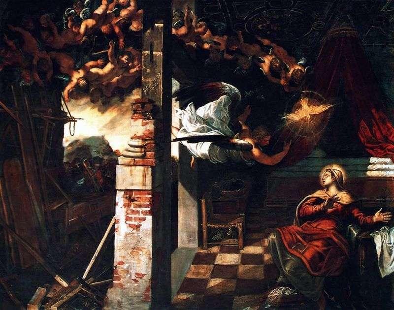 Zwiastowanie   Jacopo Tintoretto
