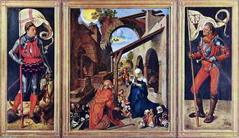 Ołtarz Paumgartnera   Albrecht Durer