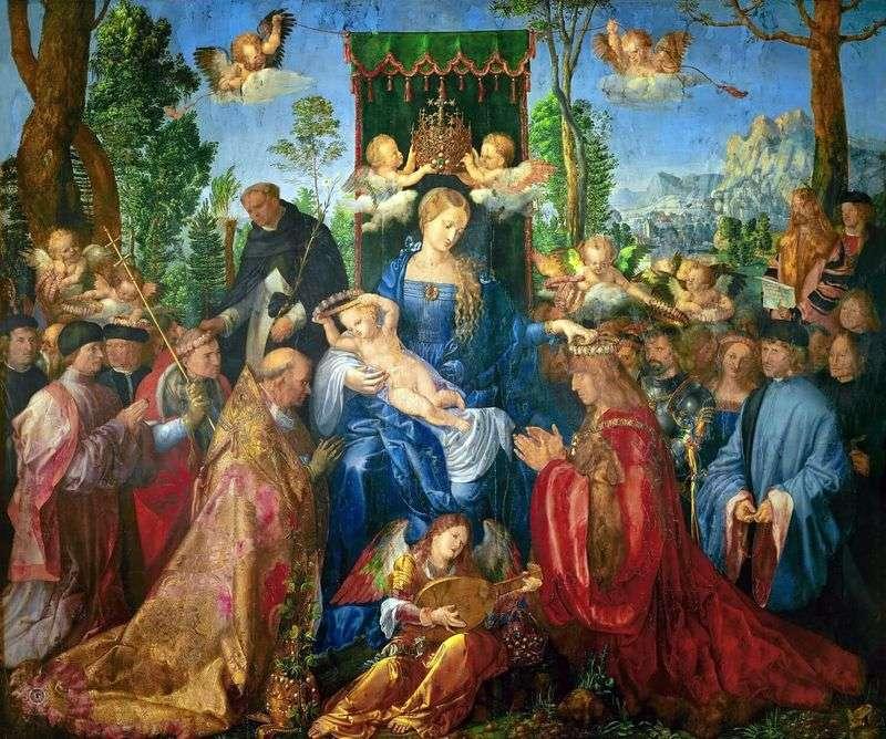 Ołtarz Różańca   Albrecht Dürer
