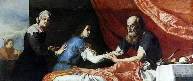 Izaak błogosławi Jakubowi   Jusepe Ribera