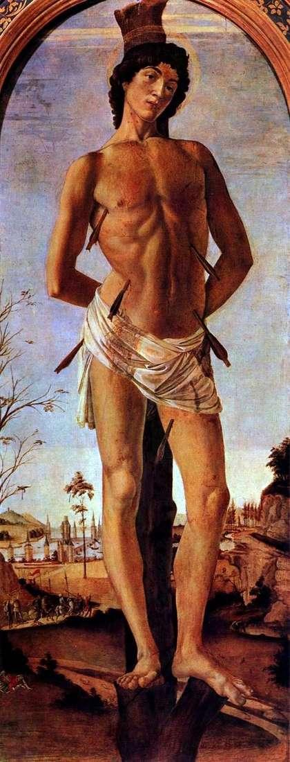 Święty Sebastian   Sandro Botticelli