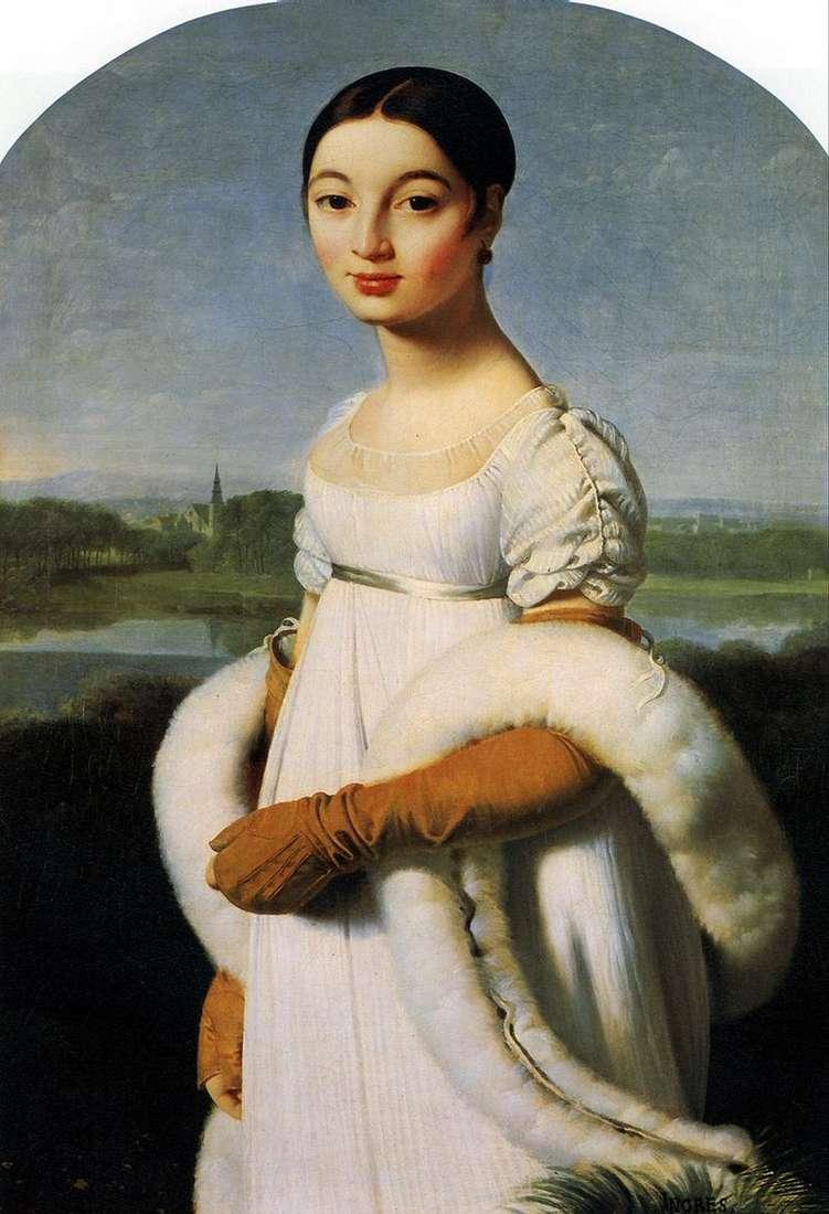 Mademoiselle Carolina Rivière   Jean Auguste Dominique Ingres