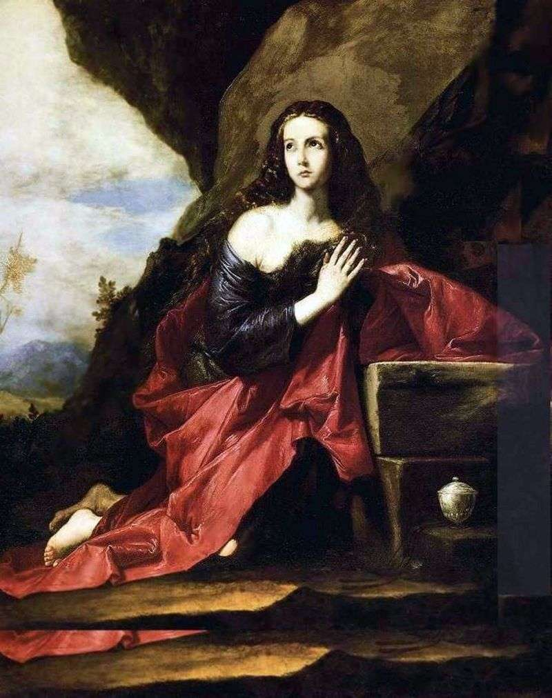 Penitent Mary Magdalen   Jusepe de Ribera