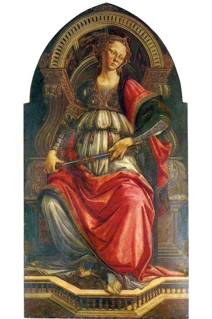 Alegoria siły (upór)   Sandro Botticelli