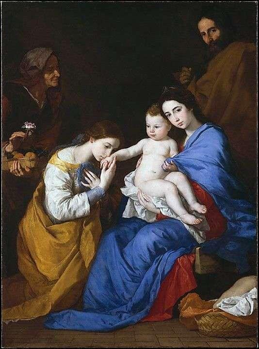 Mistyczne zaręczyny sv. Catherine of Alexandria   Jusepe de Ribera