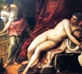 Leda and the Swan   Jacopo Tintoretto