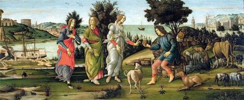 Sąd w Paryżu   Sandro Botticelli
