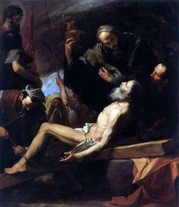 Męczeństwo apostoła Andrzeja   Jusepe de Ribera