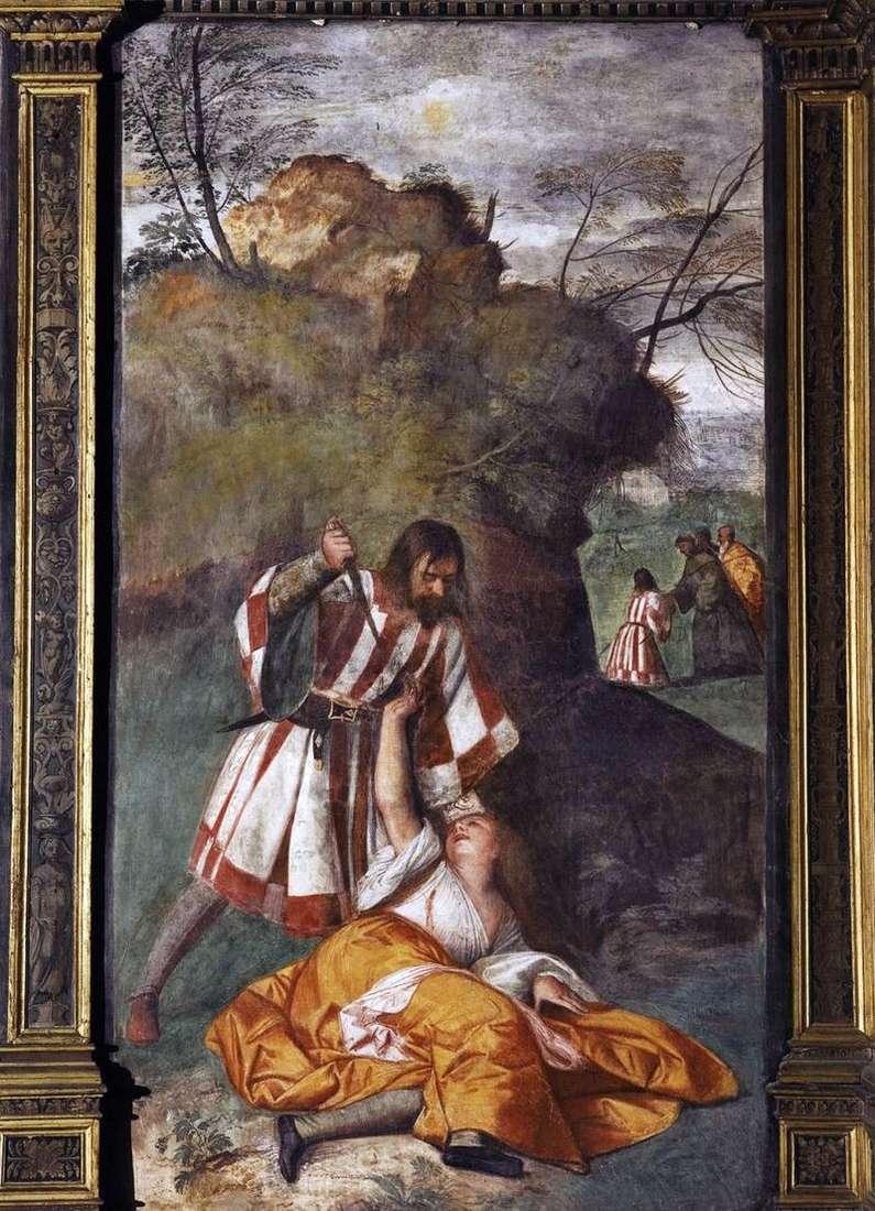 Zazdrosny mąż (Cud zazdrosnego męża)   Titian Vecellio