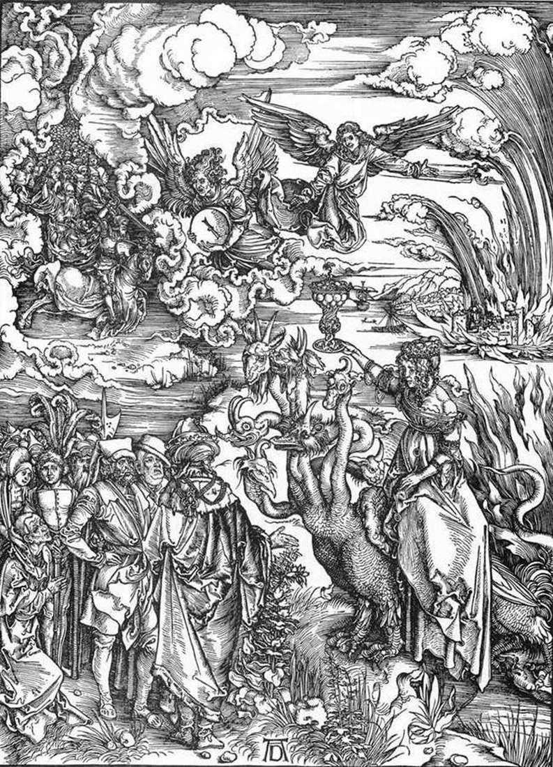 Dziwka Babilonu   Albrecht Durer