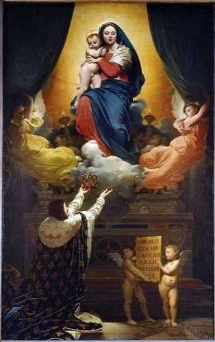 Przysięga Ludwika XIII   Jean Auguste Dominique Ingres