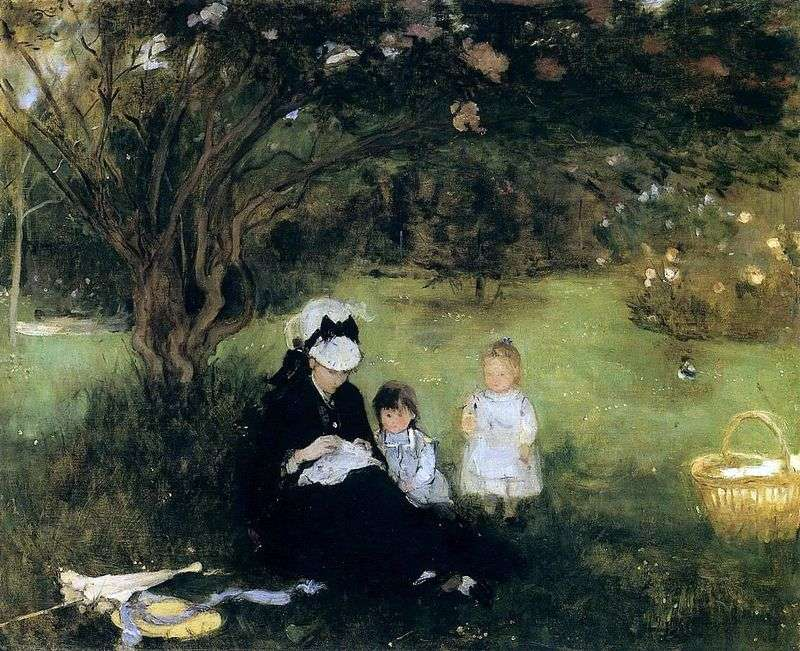 Lilac w Morekure   Bertha Morisot