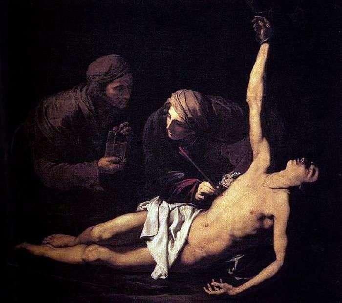 Męczeństwo św. Sebastiana   Jusepe Ribera