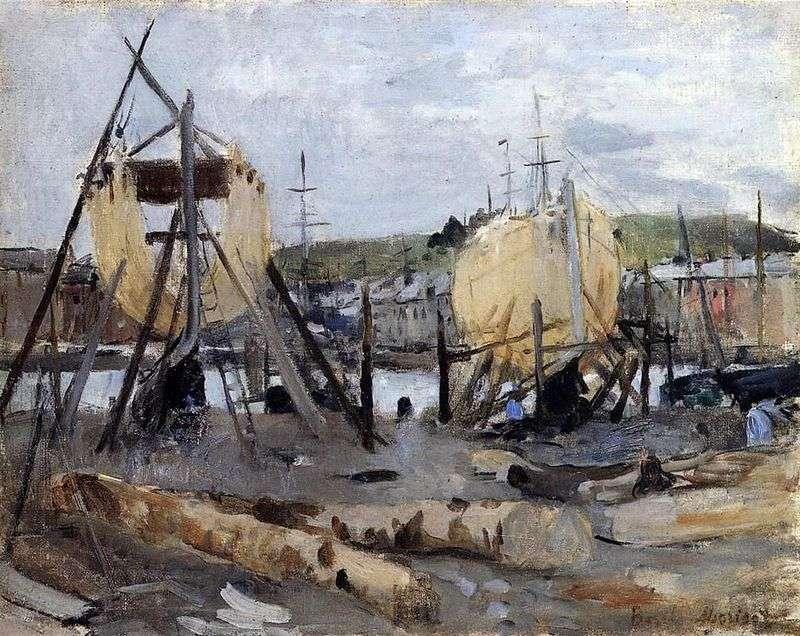 Przemysł stoczniowy   Berthe Morisot