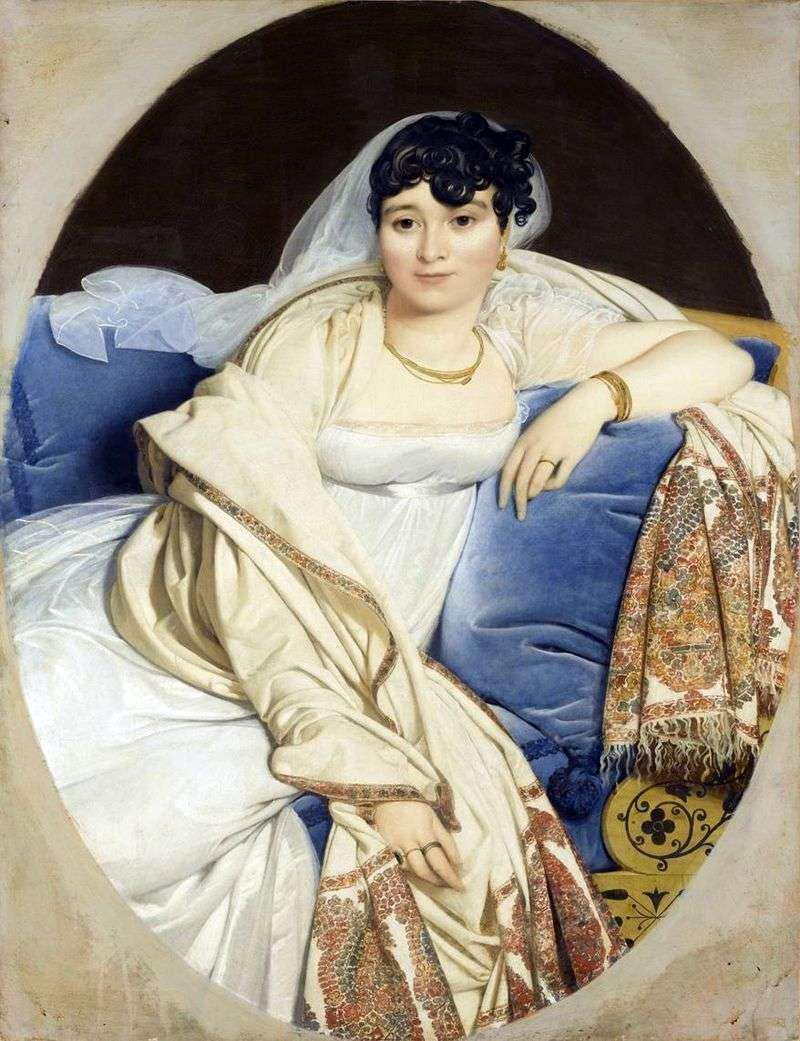 Portret pani Rivière   Jean Auguste Dominique Ingres