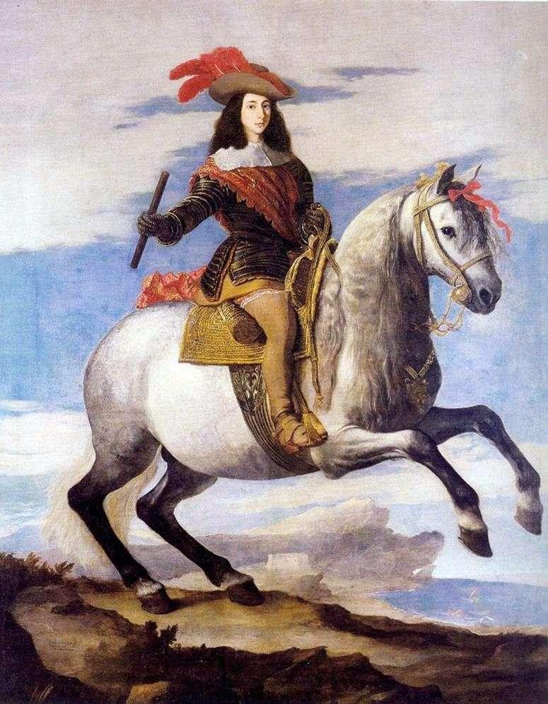 Portret Don Juana Austrii   Jusepe de Ribera