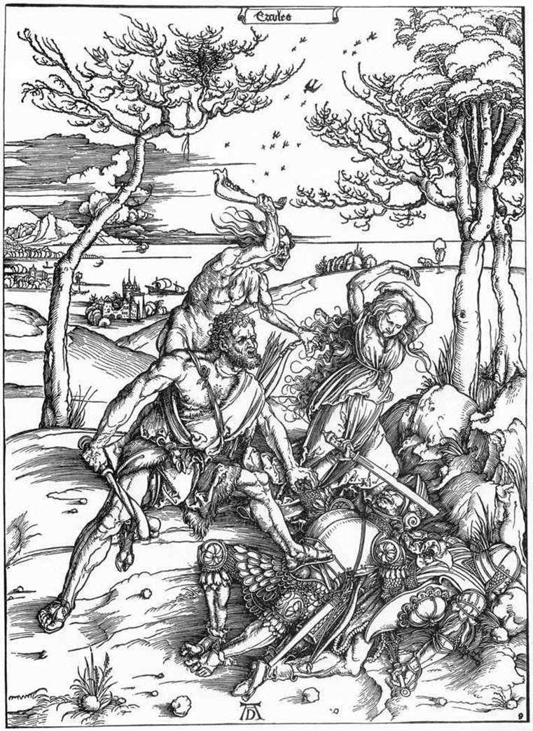 Hercules   Albrecht Durer
