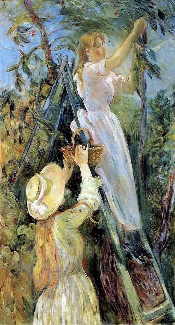 Sweet Cherry   Bertha Morisot