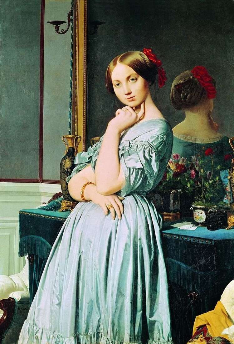 Portret Louise dOssonville   Jean Auguste Dominique Ingres