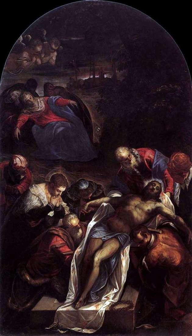 Pogrzeb   Jacopo Tintoretto