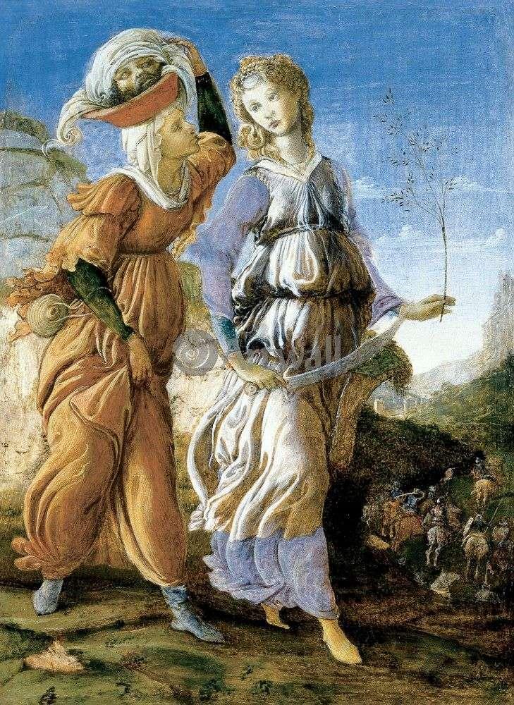Powrót Judyty do Bethulia   Sandro Botticelli
