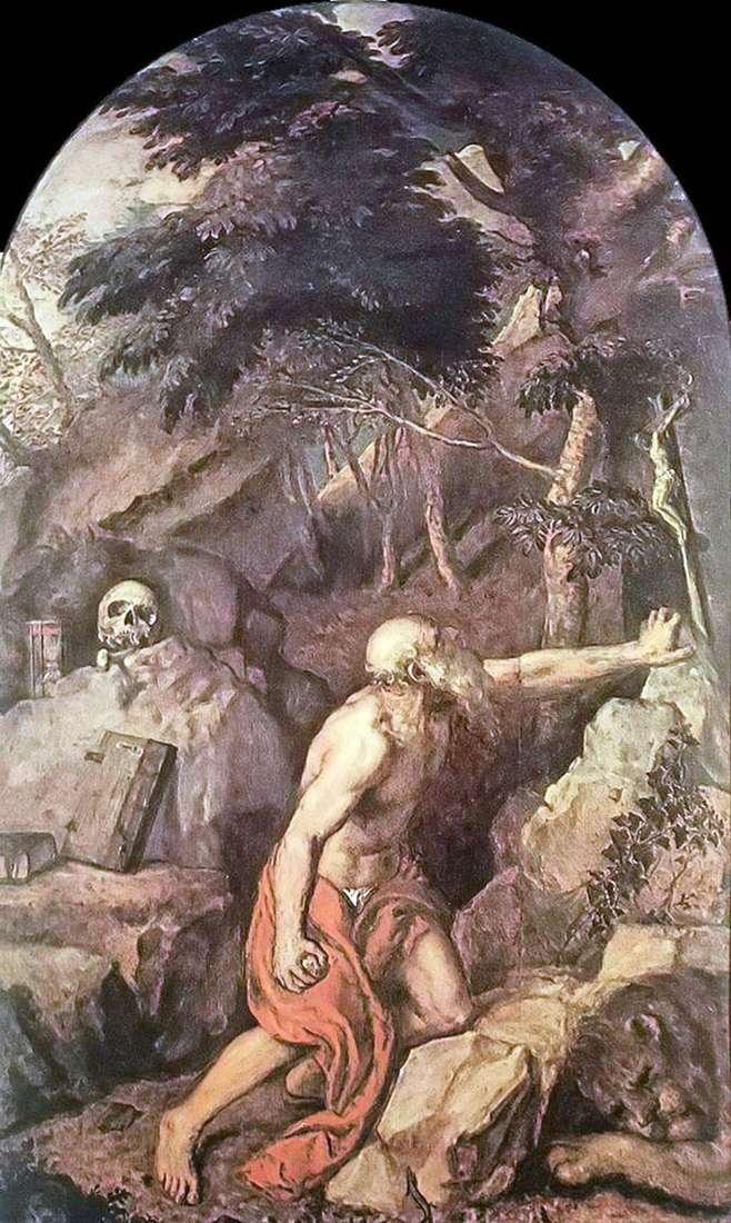 Święty Jerome   Titian Vecellio