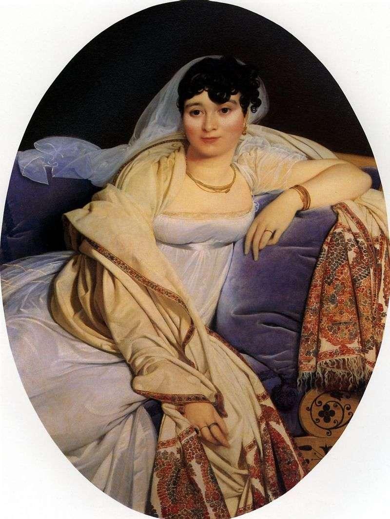Portret Madame Riviere   Jean Auguste Dominique Ingres