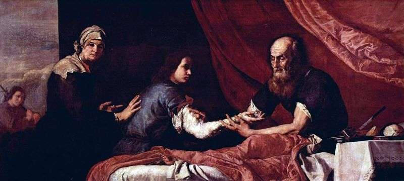 Blind Isaac błogosławi Jakubowi   Jusepe de Ribera