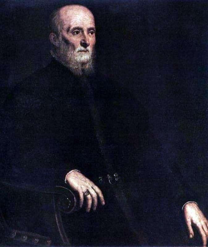 Portret Alvise Cornaro   Jacopo Tintoretto