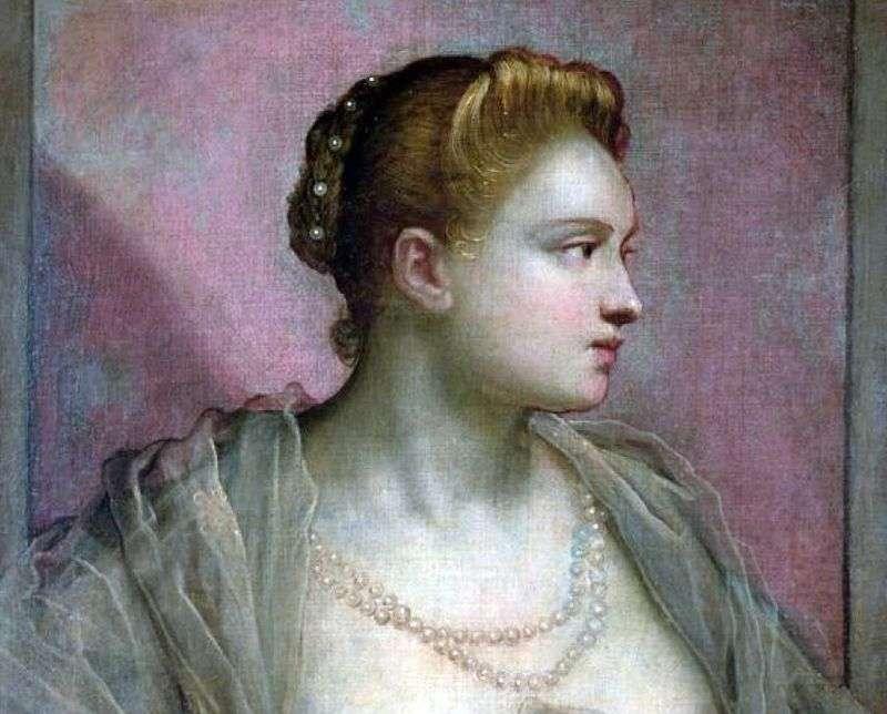 Portret młodej kobiety   Jacopo Tintoretto