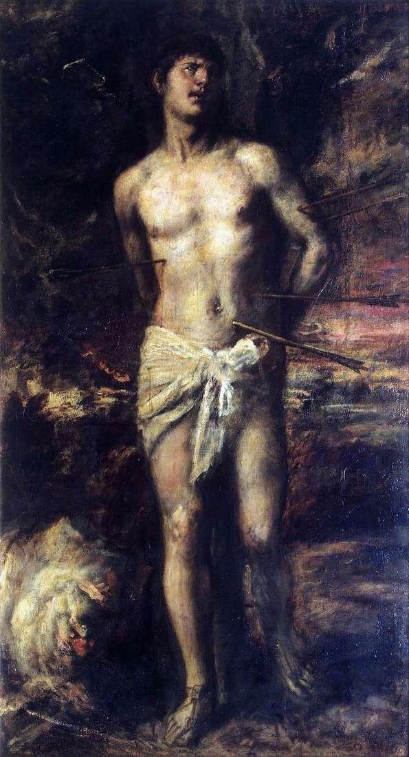 Święty Sebastian   Titian Vecellio
