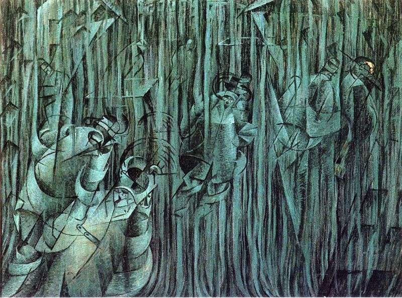 Stan umysłu   Umberto Boccioni