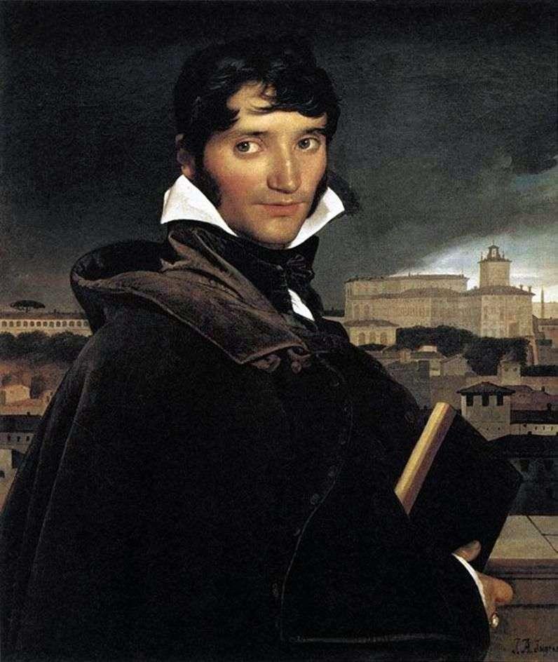Portret artysty Francois Marius Granet   Jean Auguste Dominique Ingres