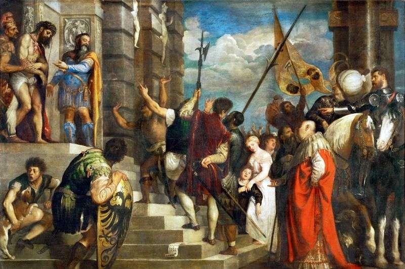 Ten człowiek to Titian Vecellio