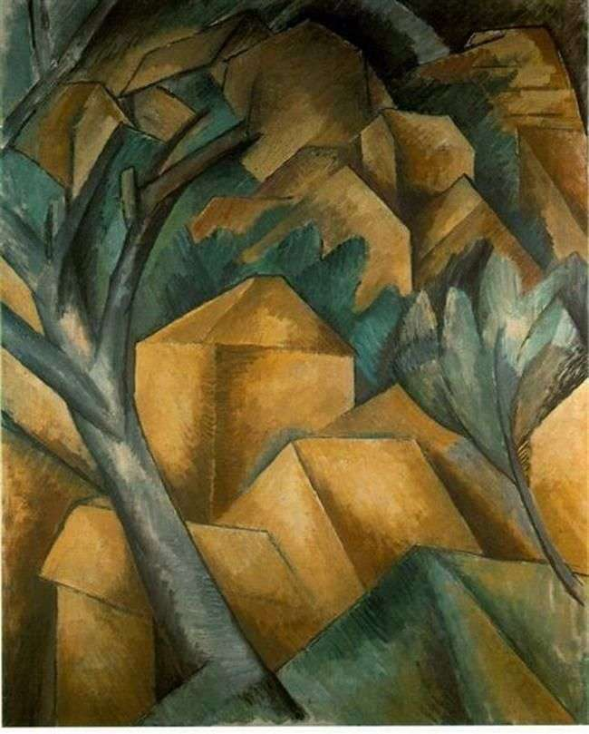 Domy w Estac   Georges Braque