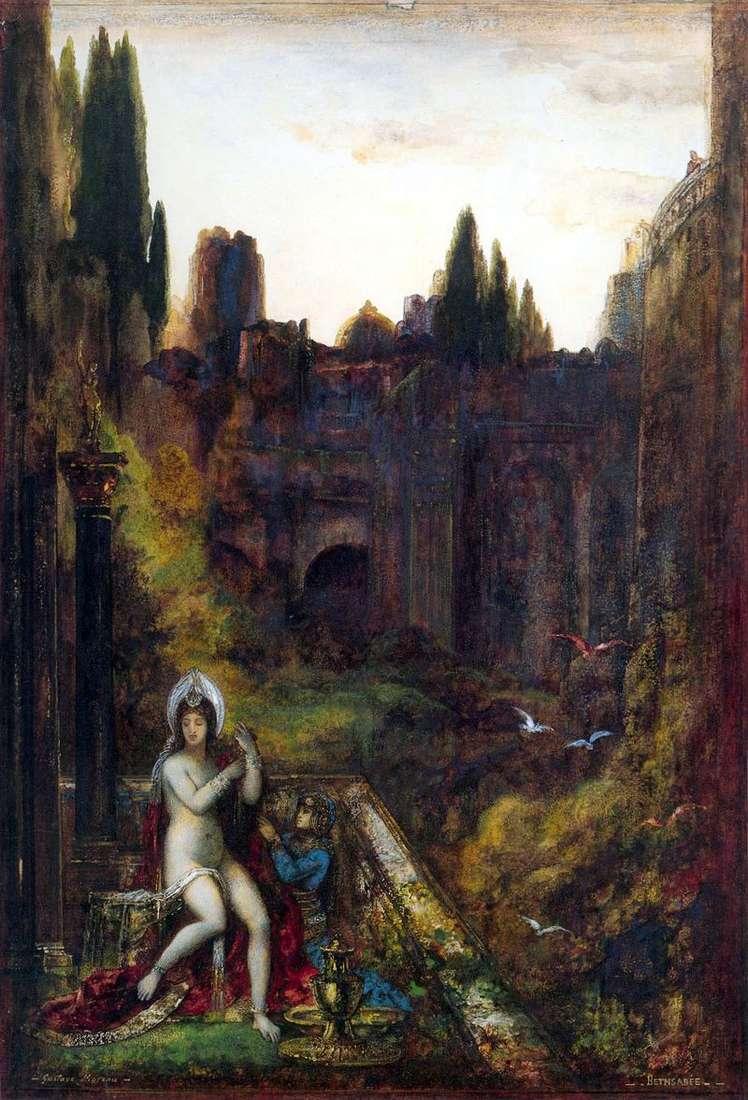 Bathsheba   Gustave Moreau