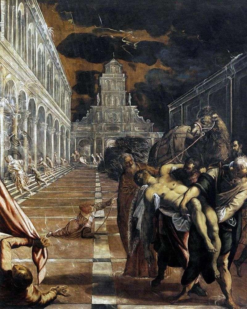 Porwanie ciała św. Marka   Jacopo Tintoretto