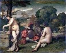 Wiejski koncert   Titian Vecellio