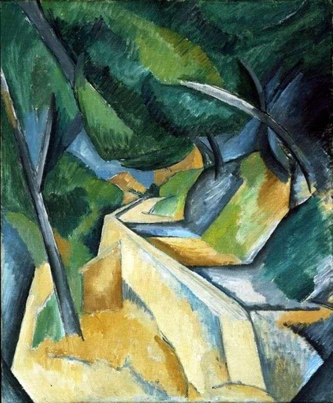 Droga w pobliżu Estak   Georges Braque