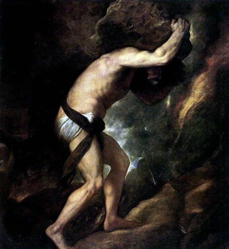 Syzyf   Titian Vecellio