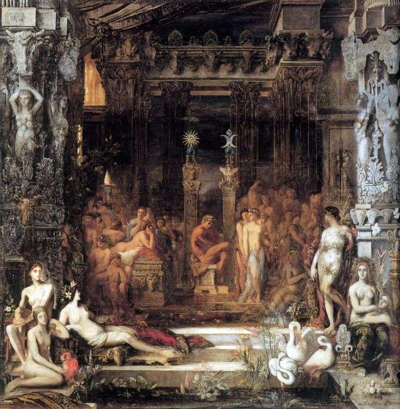 Córki Tesea   Gustave Moreau