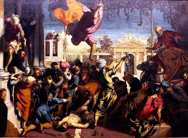 Święty Marek uwalnia niewolnika   Jacopo Tintoretto