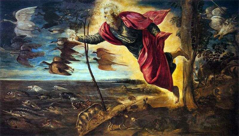 Animal Creation   Jacopo Tintoretto