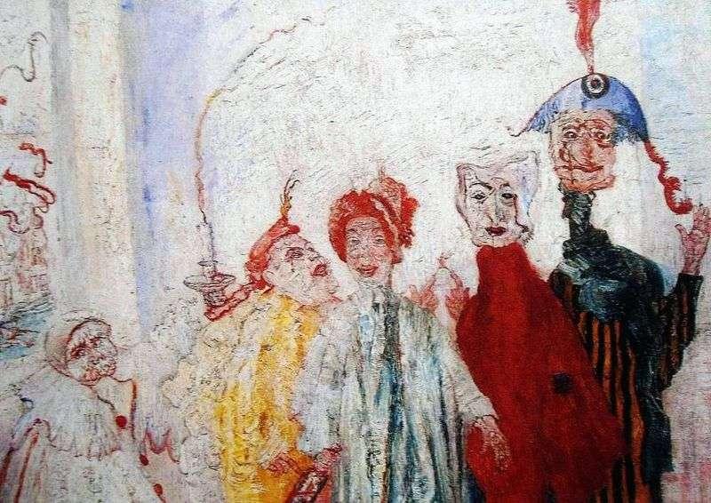 Dziwne maski   James Ensor